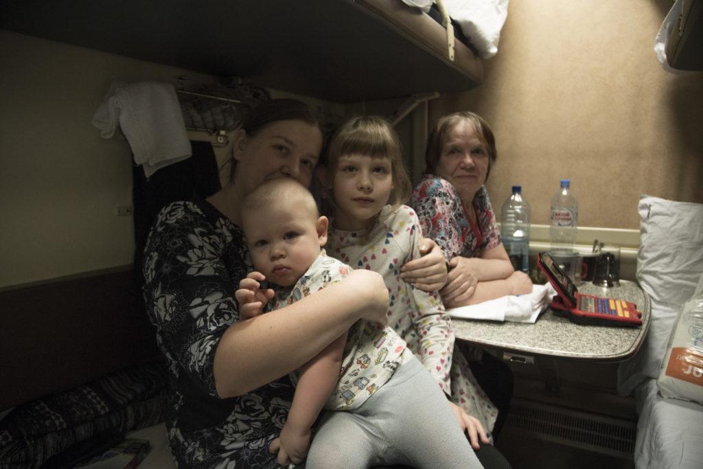 Dans le Transsibérien